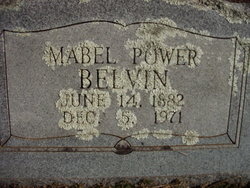 Mabel <I>Power</I> Belvin