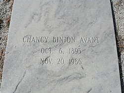 Chancy Binion Avant