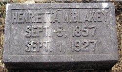 Henrietta Missouri <I>Parks</I> Blakey