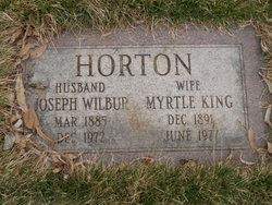 Joseph Wilbur Horton