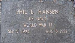 """Phil Lamarr """"Schoon"""" Hansen"""