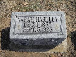 Sarah Ellen <I>Fisher</I> Barnhizer Hartley