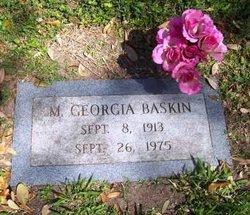 Mittie Georgia <I>Looney</I> Baskin