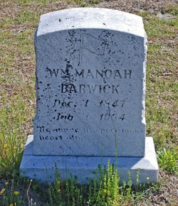 William Manoah Barwick