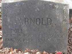 """Mary A. """"Polly"""" <I>Griffin</I> Arnold"""