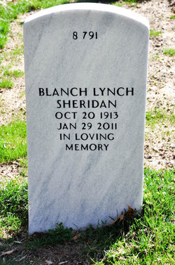 Blanch <I>Lynch</I> Sheridan