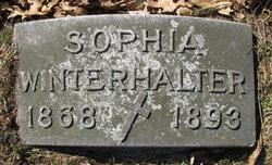 Sophia <I>Zuber</I> Winterhalter