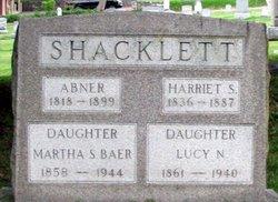 """Martha G. """"Mattie"""" <I>Shacklett</I> Baer"""