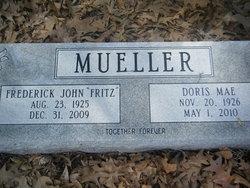"""Frederick John """"Fritz"""" Mueller"""