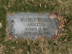 Wendell Russell Anderson