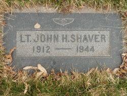 Lieut John Hiskey Shaver