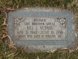 Bill J Vosnos