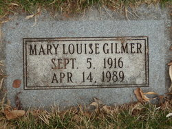 Mary Louise Gilmer