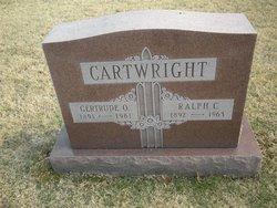 Gertrude <I>Oliver</I> Cartwright