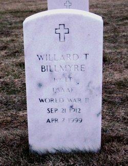 Willard T Billmyre