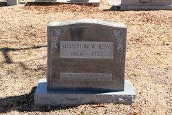 Missouri Louise <I>Wilson</I> King