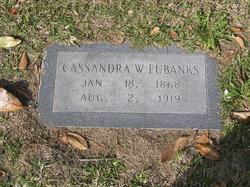 Cassandra <I>White</I> Eubanks