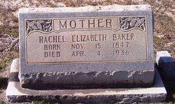 Rachel Elizabeth <I>Young</I> Baker