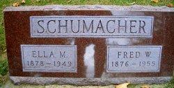 Ella Marie <I>Petersen</I> Schumacher