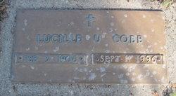 Lucille <I>Ullrich</I> Cobb