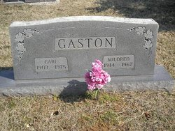Mildred <I>Langston</I> Gaston