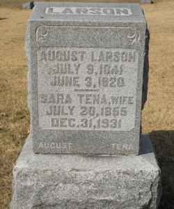 Sarah Tena <I>Anderson</I> Larson