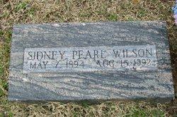 Sidney Pearl Wilson