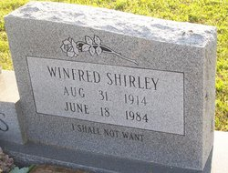 "Winfred Shirley ""W. S."" Speights"