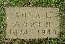 Anna Elizabeth <I>Dieffenbaugh</I> Acker