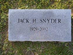 Jack H. Snyder