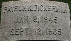 Payson Kingsbury Dickerman