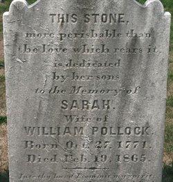 Sarah <I>Wilson</I> Pollock