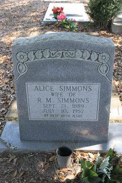 Barbara Alice <I>Coleman</I> Simmons