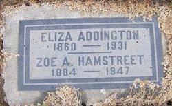 Eliza <I>Nevinger</I> Addington