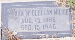 Myron McClellan Milice