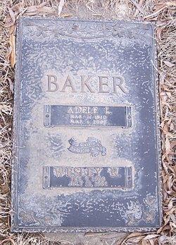 Adele Esther <I>Langenbahn</I> Baker