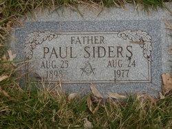 Paul Siders
