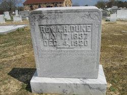 Rev Alexander Hamilton Duke