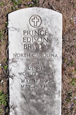 Prince Edison Brady, Sr