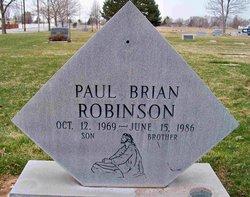 Paul Brian Robinson