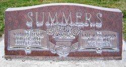 Kate Mahala <I>Thompson</I> Summers