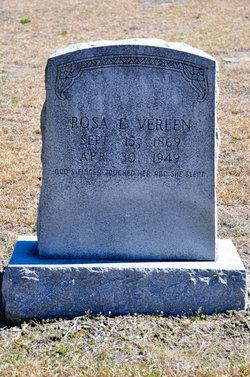Rosa E <I>Bennet</I> Vereen