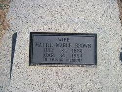 Mattie Mable <I>Beard</I> Brown