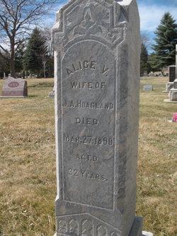 Alice Virginia <I>Wells</I> Hoagland