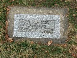 Ruth <I>Taylor</I> Bronson