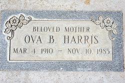 "Ova Beatrice ""Obie"" <I>Kelley</I> Harris"
