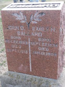 "Emma Hannah ""Emily"" <I>Everhart</I> Ballard"