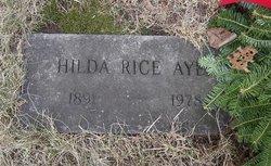 Hilda Proctor <I>Rice</I> Ayer