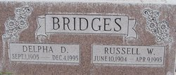Delpha Davis <I>Adams</I> Bridges