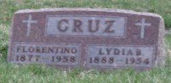 Lydia <I>Bravo</I> Cruz